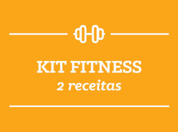 Kit Fitness: 2 receitas semana 16/Abril