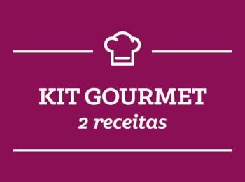Kit Gourmet: 2 receitas semana 23/Julho