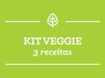 Kit VEGGIE: 3 receitas
