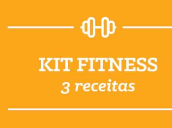 Kit Fitness: 3 receitas semana 26/Março
