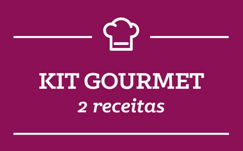 Kit Gourmet: 2 receitas semana 14/Janeiro