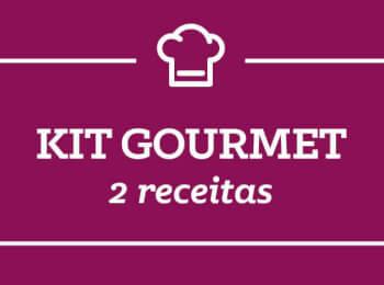 Kit Gourmet: 2 receitas semana 26/Março