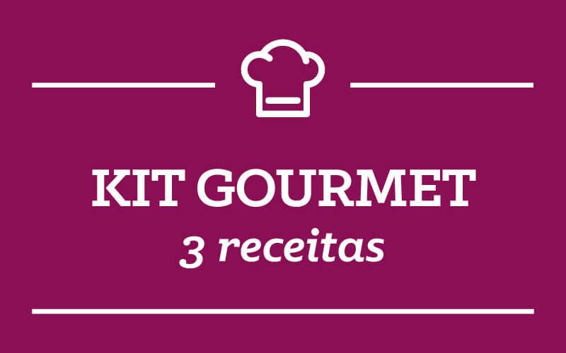 Kit Gourmet: 3 receitas semana 14/Janeiro
