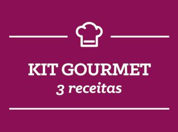 Kit Gourmet: 3 receitas semana 21/Maio