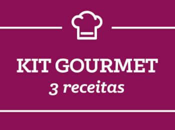 Kit Gourmet: 3 receitas semana 26/Março