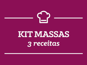 Kit Massa: 3 Receitas