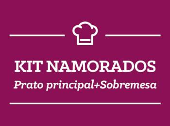 Kit Namorados: 2 Pratos Principais + 2 Brigadeiros