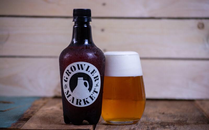 Cerveja Pilsen Growler Market - 500ml (gelada)