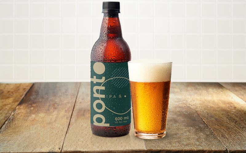 Cerveja Ponto IPA - 330ml (gelada)