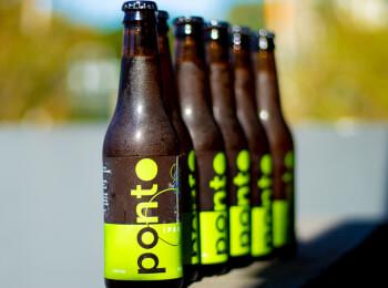 Cerveja Ponto IPA six-pack - 355ml (gelada)