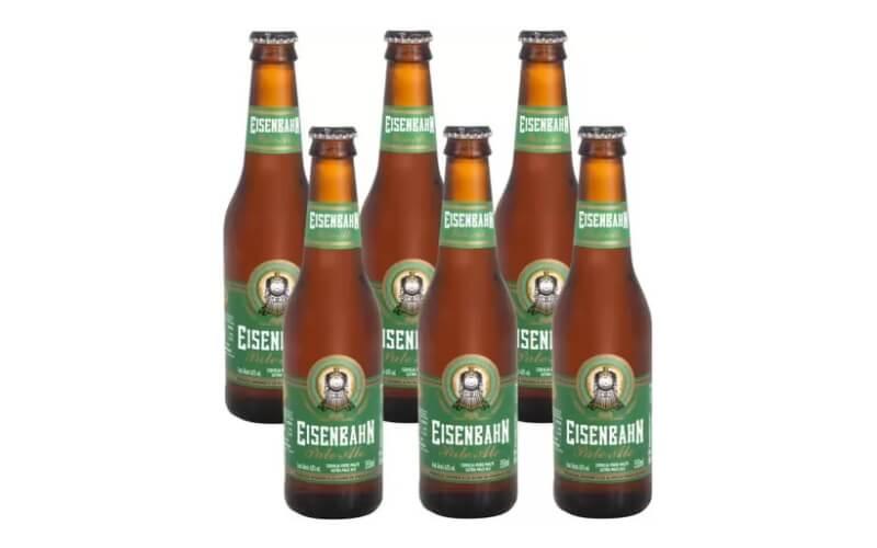 Cerveja Eisenbahn Pale Ale Long Neck (355ml) 6-Pack